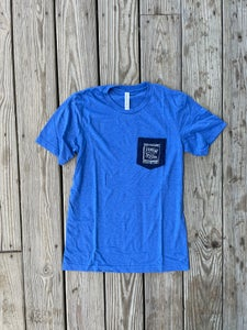 Image of Classic Pocket Tee - Blue