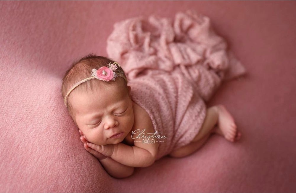 Image of Remi Wool blend Beanbag backdrop in Pink