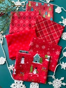 Image of Snowed In Reds Fat Quarter Pack
