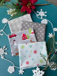 Image of Snowed In Neutrals Fat Quarter Pack