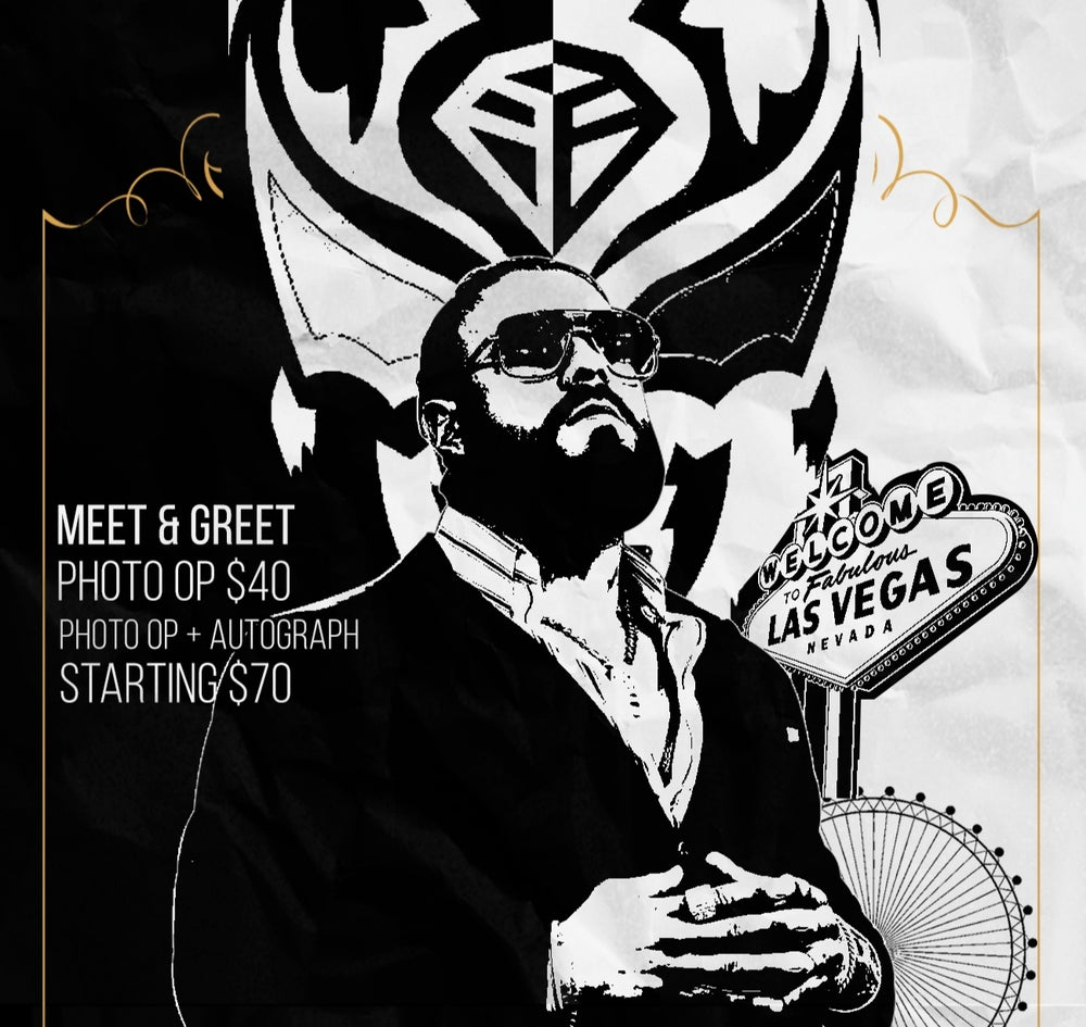 Image of Gold Ticket - Andrade El Idolo Meet and Greet