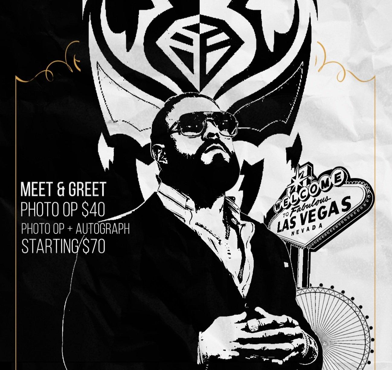 Image of VIP Ticket - Andrade El Idolo Meet and Greet