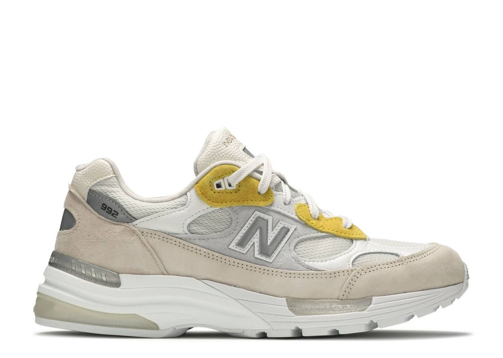 Image of NEW BALANCE PAPERBOY PARIS X 992 MADE IN USA 'FRIED EGG'