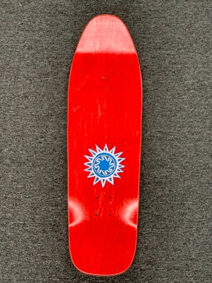 Image of New Deal Mike Vallely Mammoth SP Re-Issue Deck  9.5 x 32.375 ~ Brown Stain