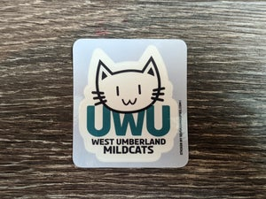 UWU Mildcats Sports Sticker