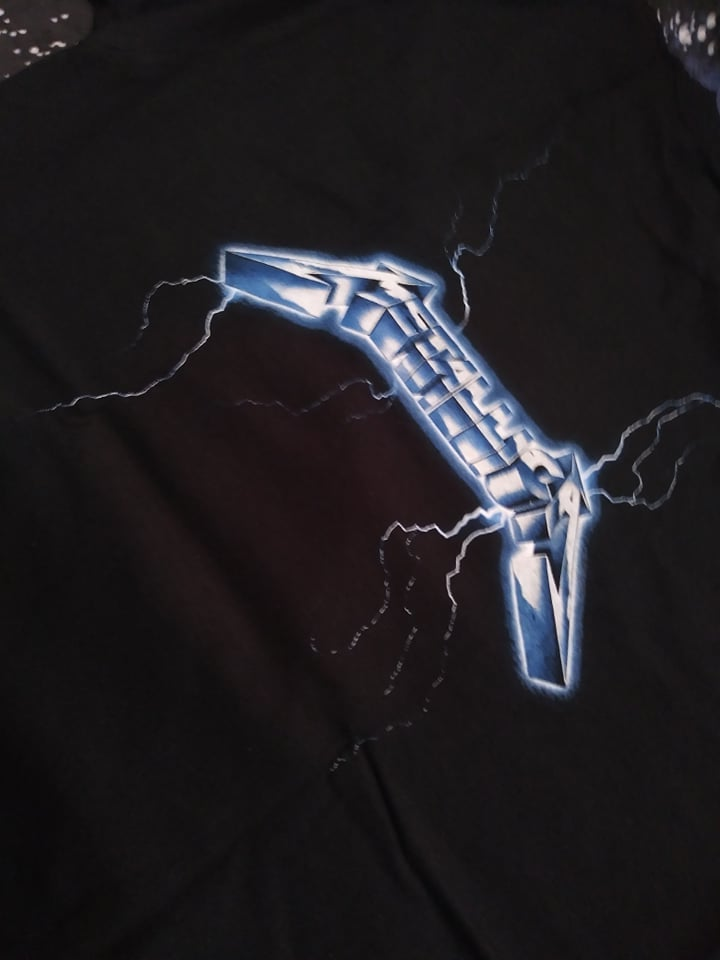 Metallica Ride the Lightning T-SHIRT *Imported*