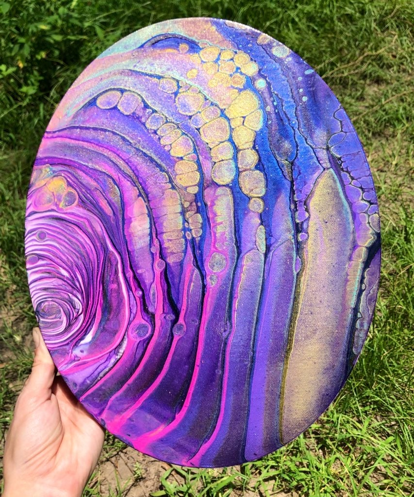 Image of Magenta Waves