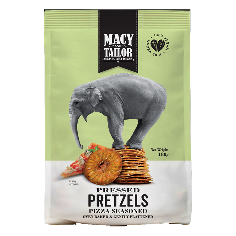 Image of Macy And Tailor Pressed Pretzels Pizza Seasoning 180G