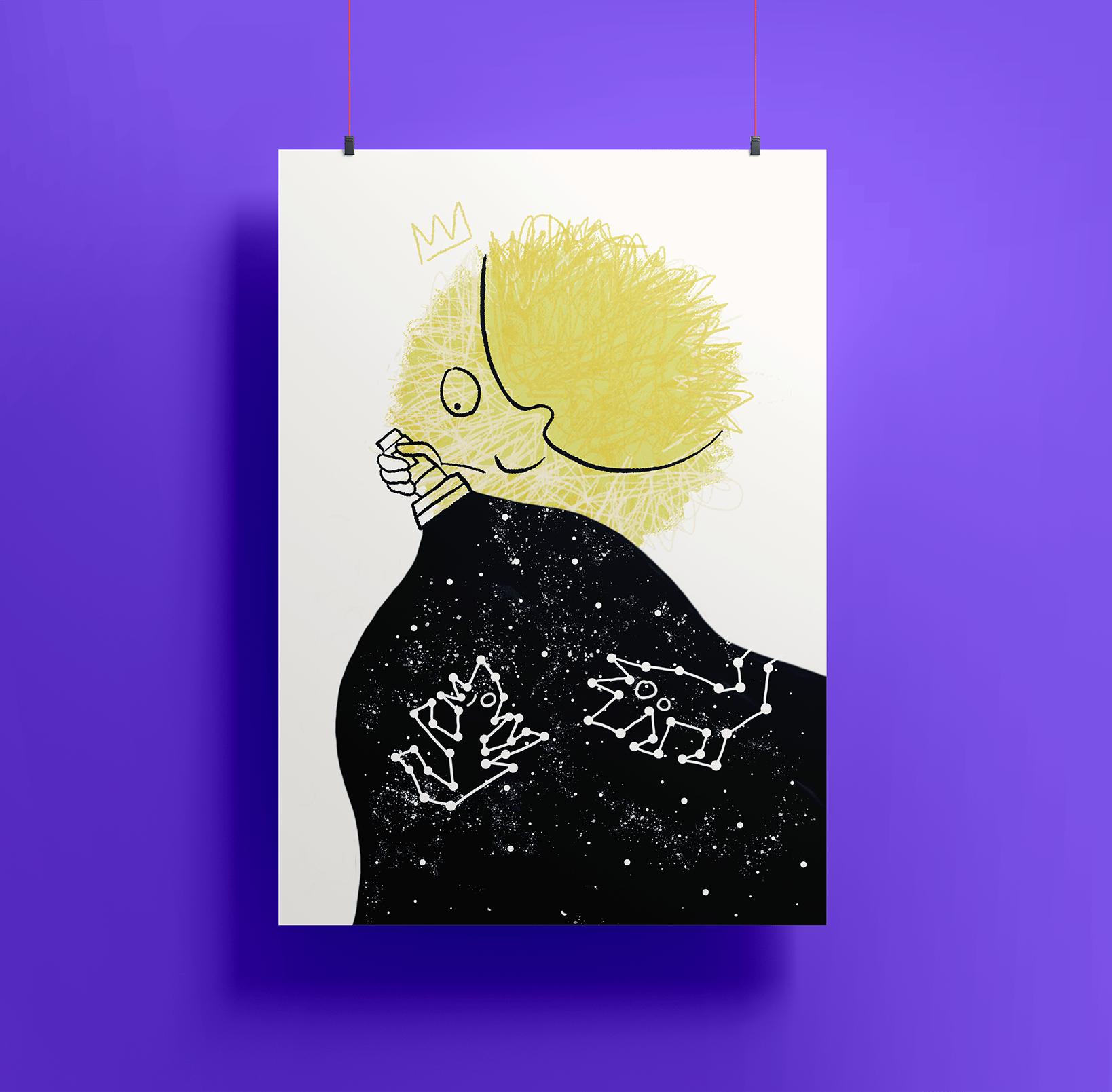 Image of Artprint — Moon