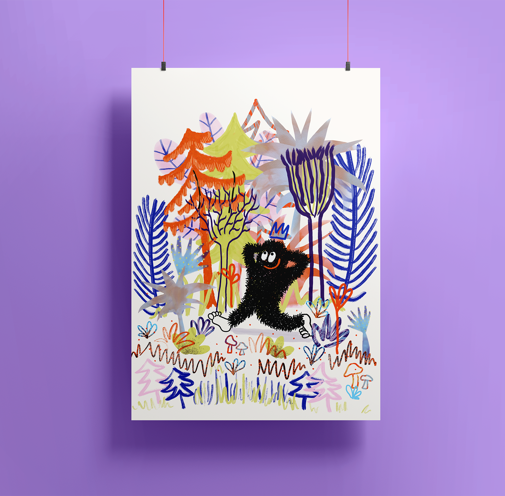 Image of Artprint —  Into The Woods