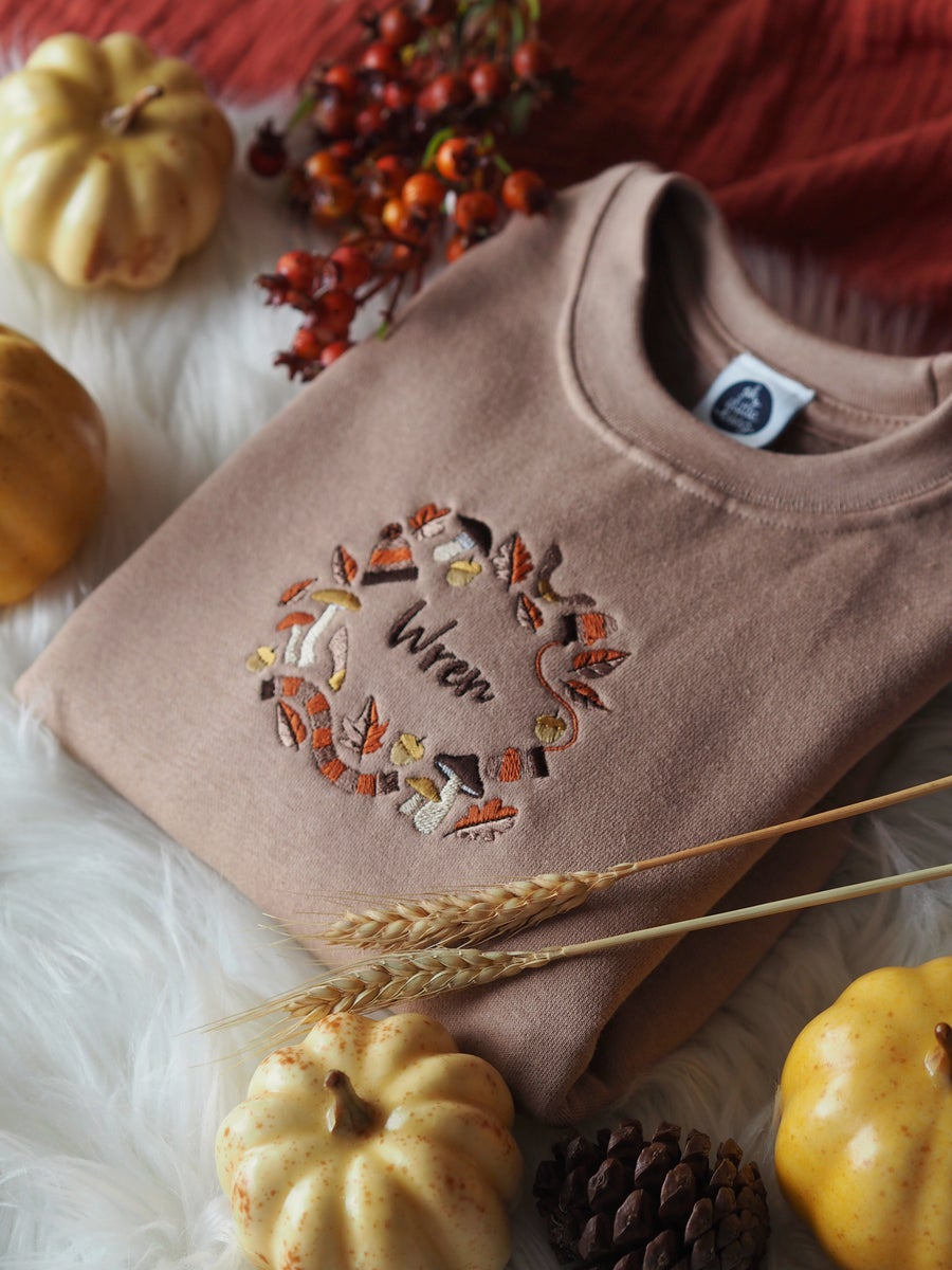 Image of A Rustling Stroll - Taupe Sweater
