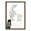 GRIBOUILLEUSE - Little girl with watering can