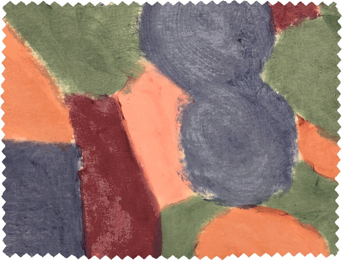 Image of COLOR PAINT FABRIC (0,5m)