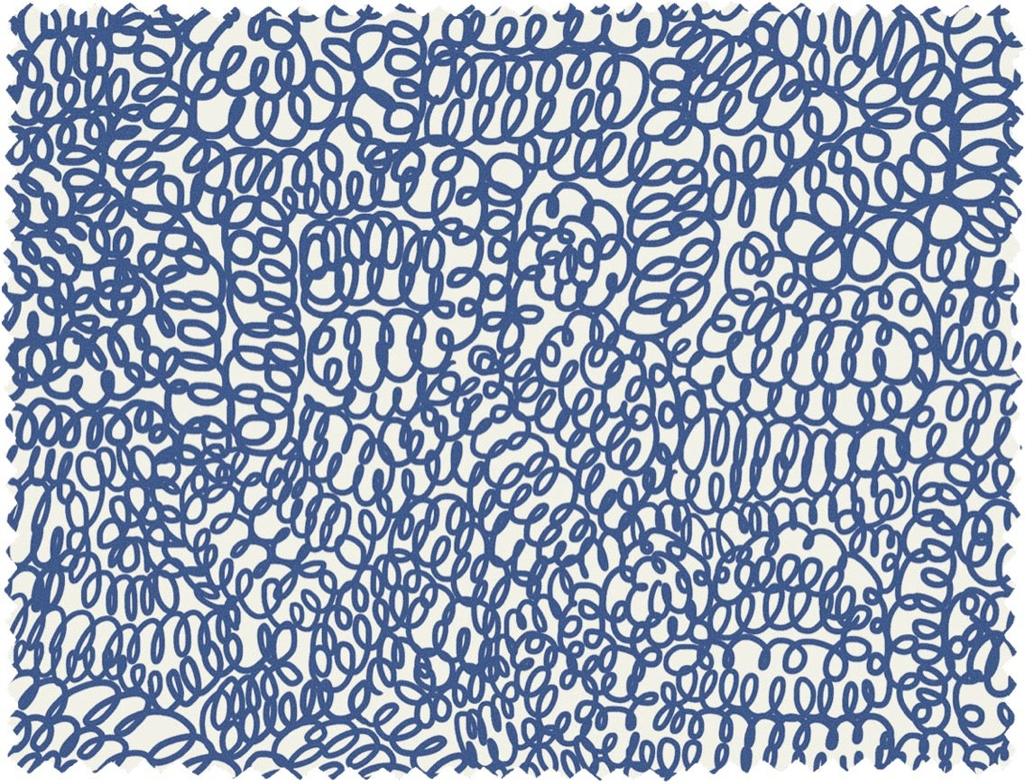 Image of CURLY PRINT FABRIC (0,5m)