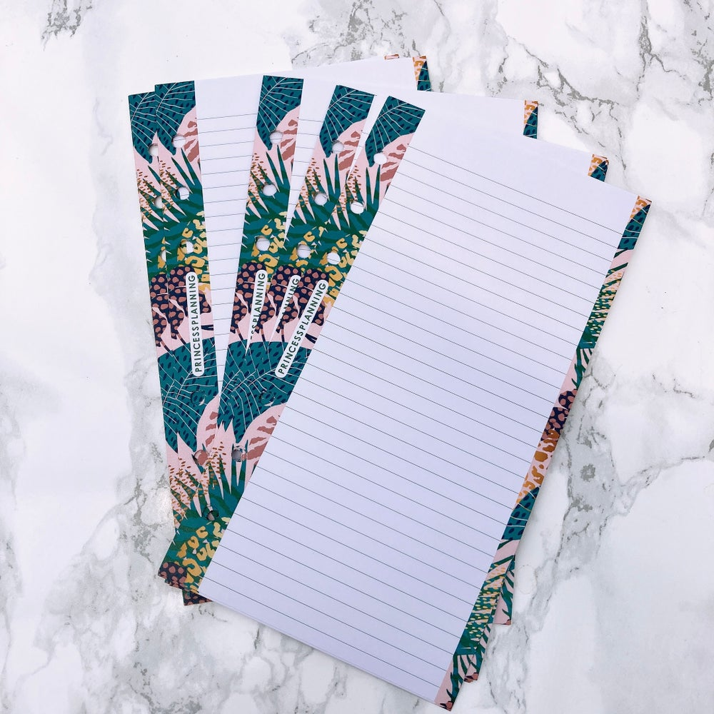 Image of PETITE PLANNER EXOTIC LINED NOTE PAPER INSERT