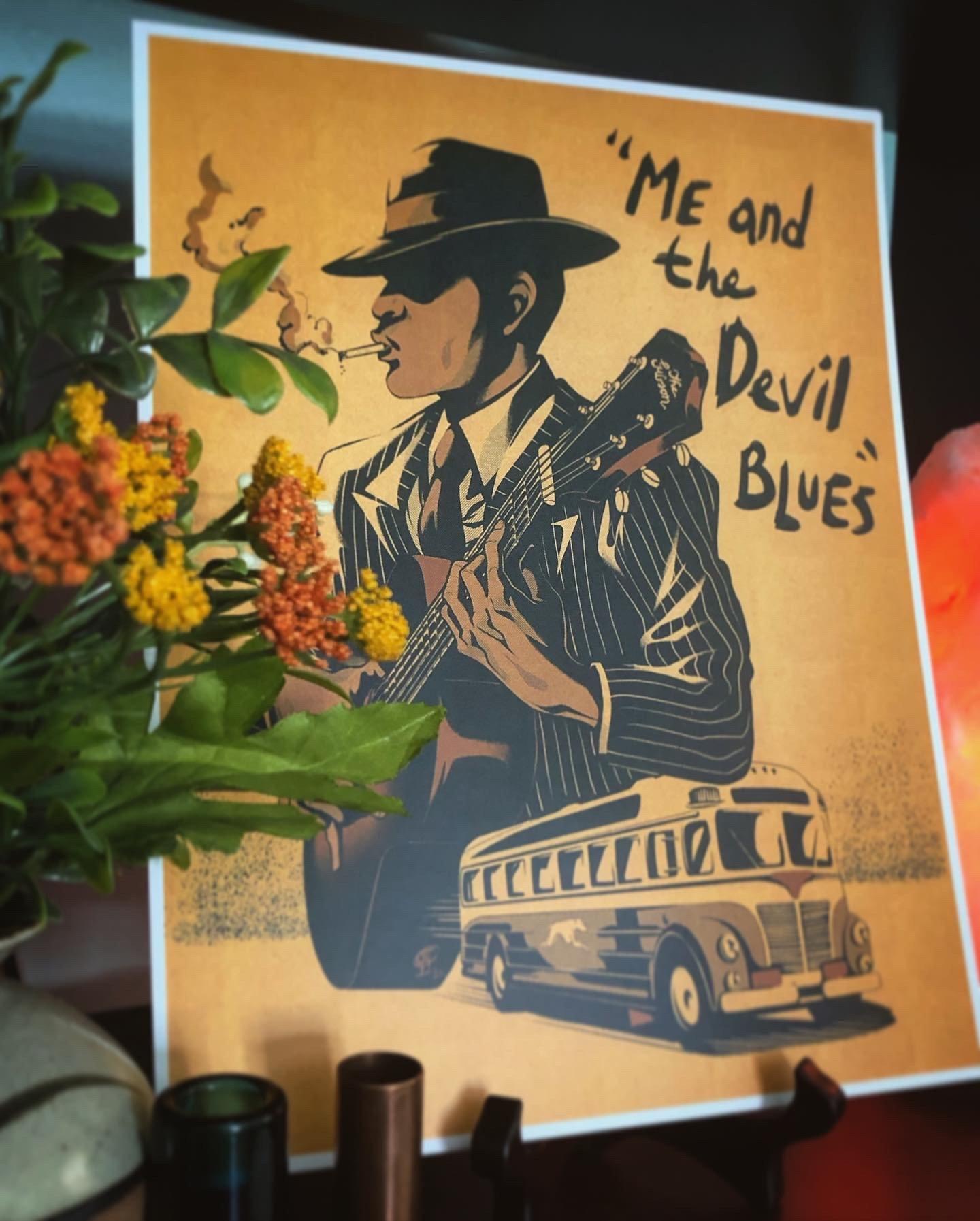 Image of Robert Johnson Print