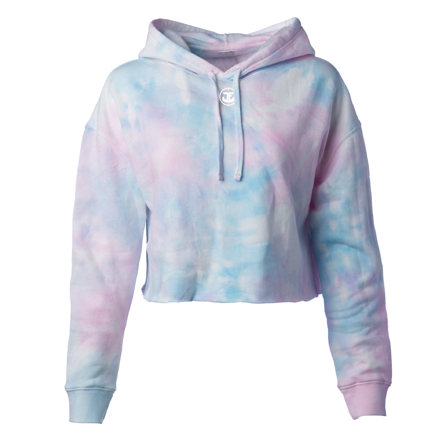 Image of Lightweight Crop Top Hooded Pullover