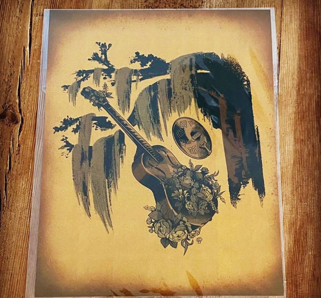 Image of The Swamp Resonator Print