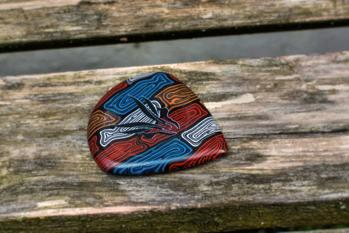 Image of Limited Edition 5mm 'MITOCHONDRIA' plectrums