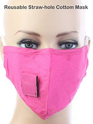 Image of PINK DRINKING MASK
