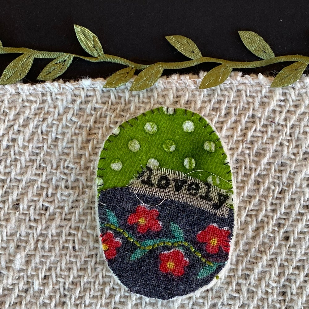 """Image of """"Lovely"""" Lapel Pin"""