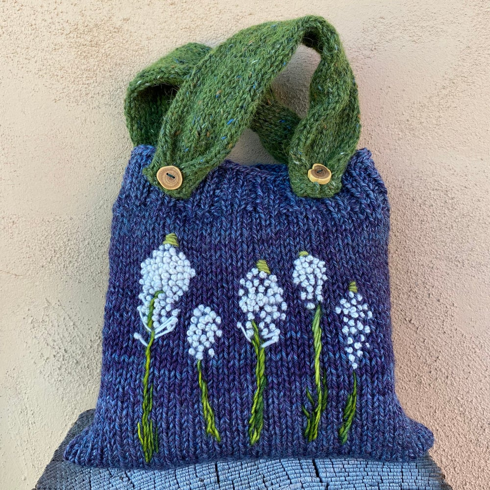 Image of Bear Grass Knitted Pouch