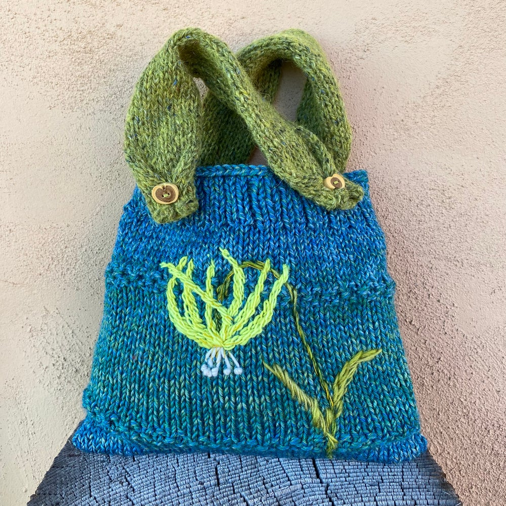Image of Glacier Lily Knitted Pouch