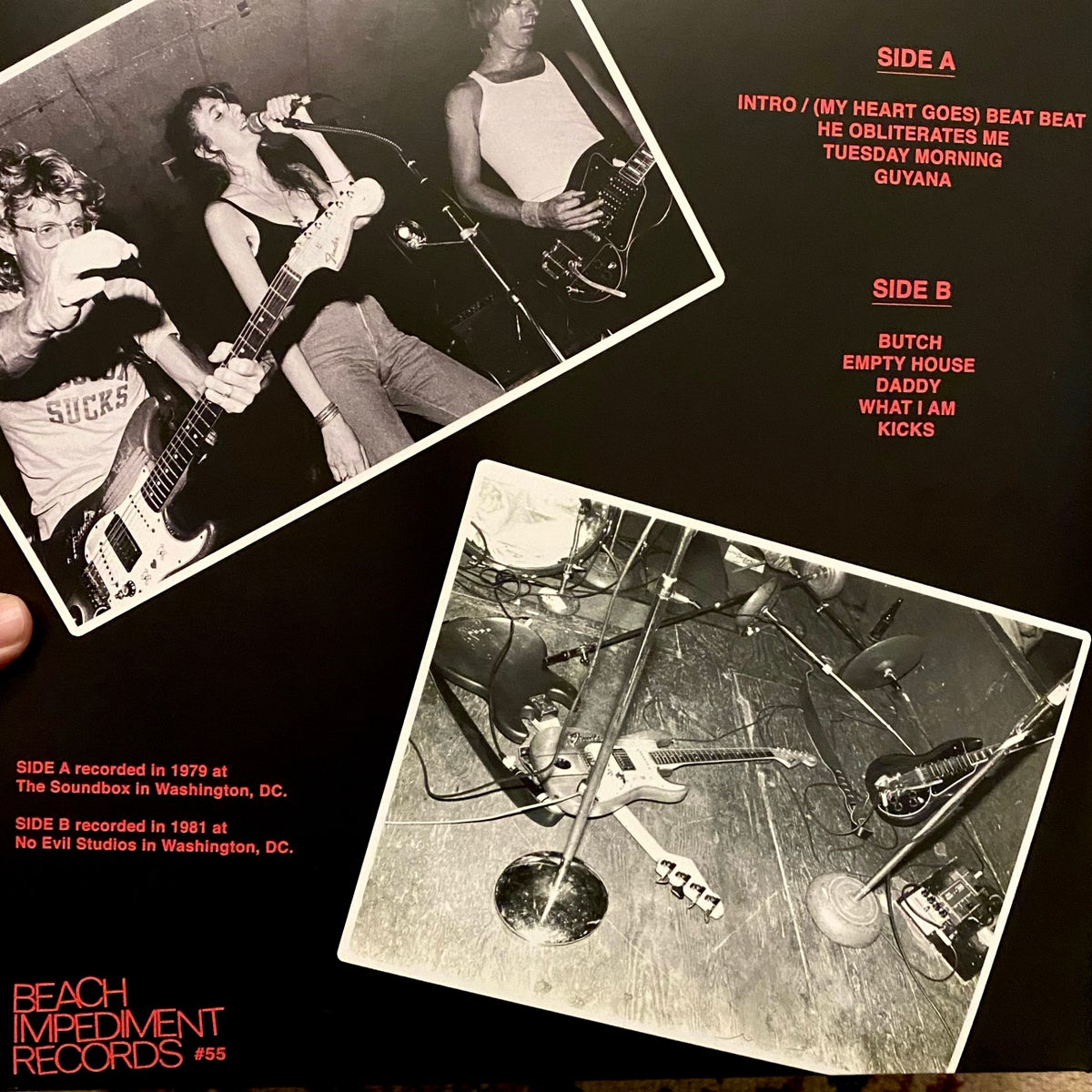 Image of Beex - the early years - 1979 - 1982