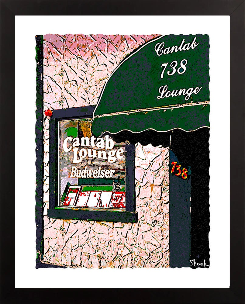Cantab Lounge Cambridge Giclée Art Print  (Multi-size options)