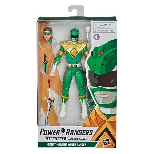 Image of Power Rangers Lightning Collection Mighty Morphin Green Ranger 6-Inch Action Figure