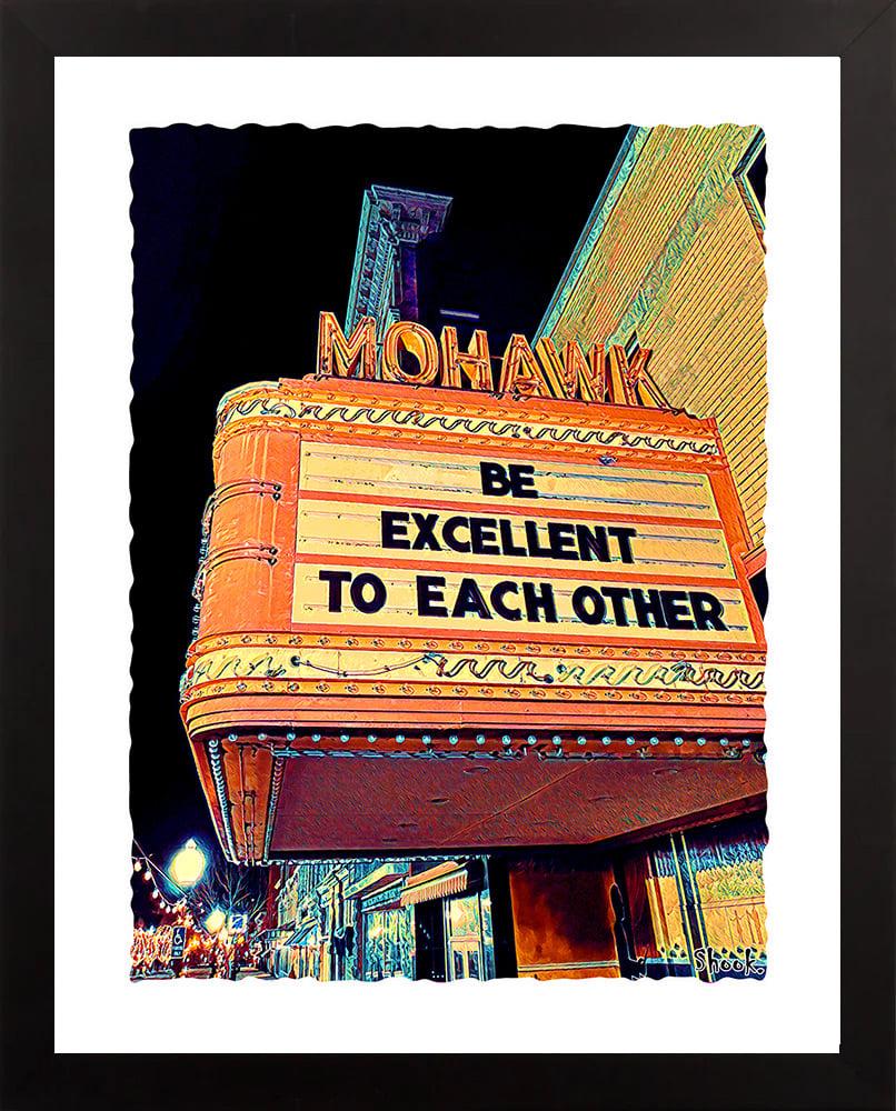 Mohawk Theater North Adams MA Giclée Art Print (Multi-size options)