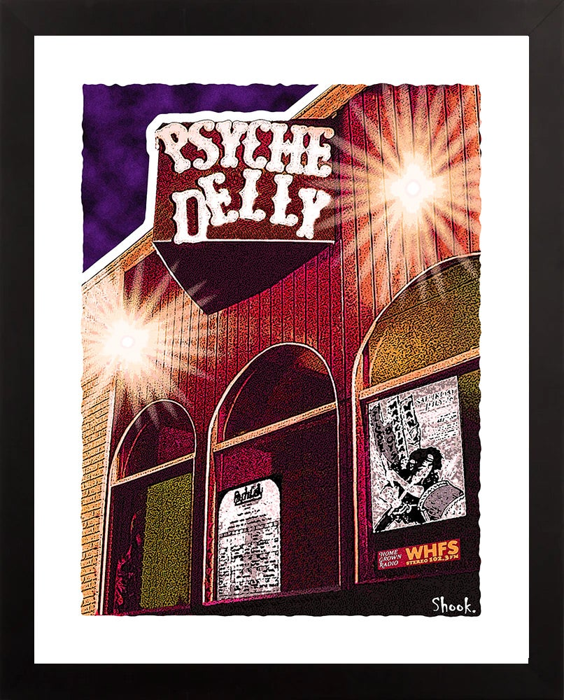 Psyche Delly Giclée Art Print (Multi-size options)