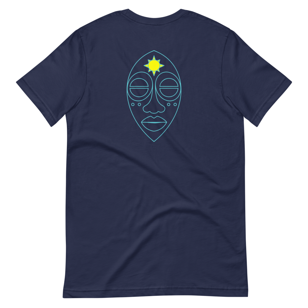 Picasso Stole - Navy