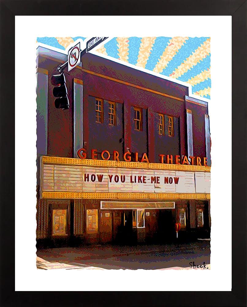Georgia Theatre Athens GA Giclée Art Print (Multi-size options)