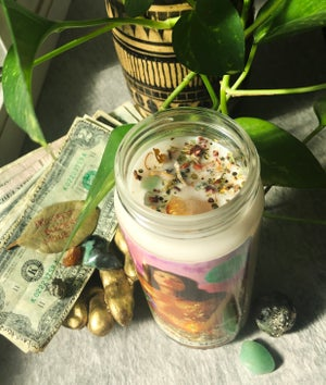 Image of Sensual Alchemy Money Sex Magic Spell Candle