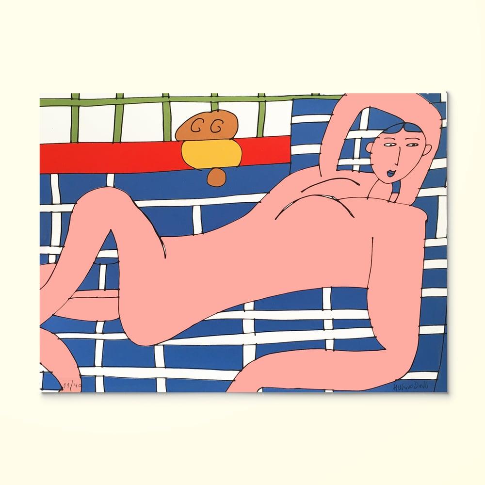Image of NU VERMELHO HENRI MATISSE, Hugo van der Ding