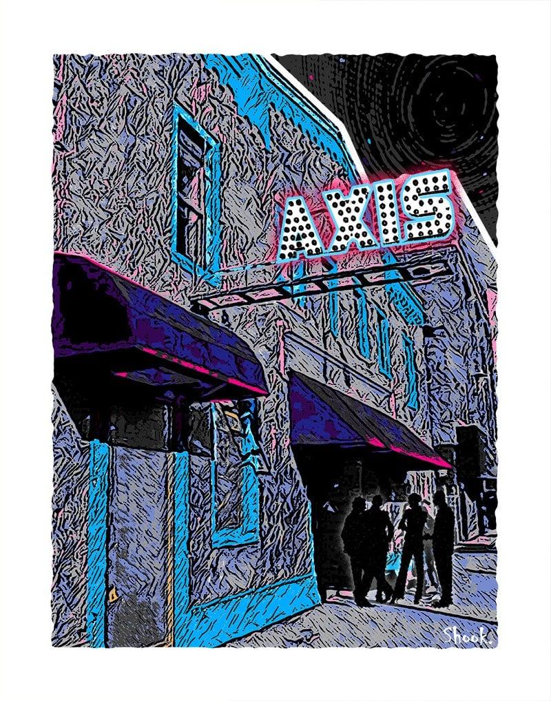 Axis Boston Giclée Art Print (Multi-size options)