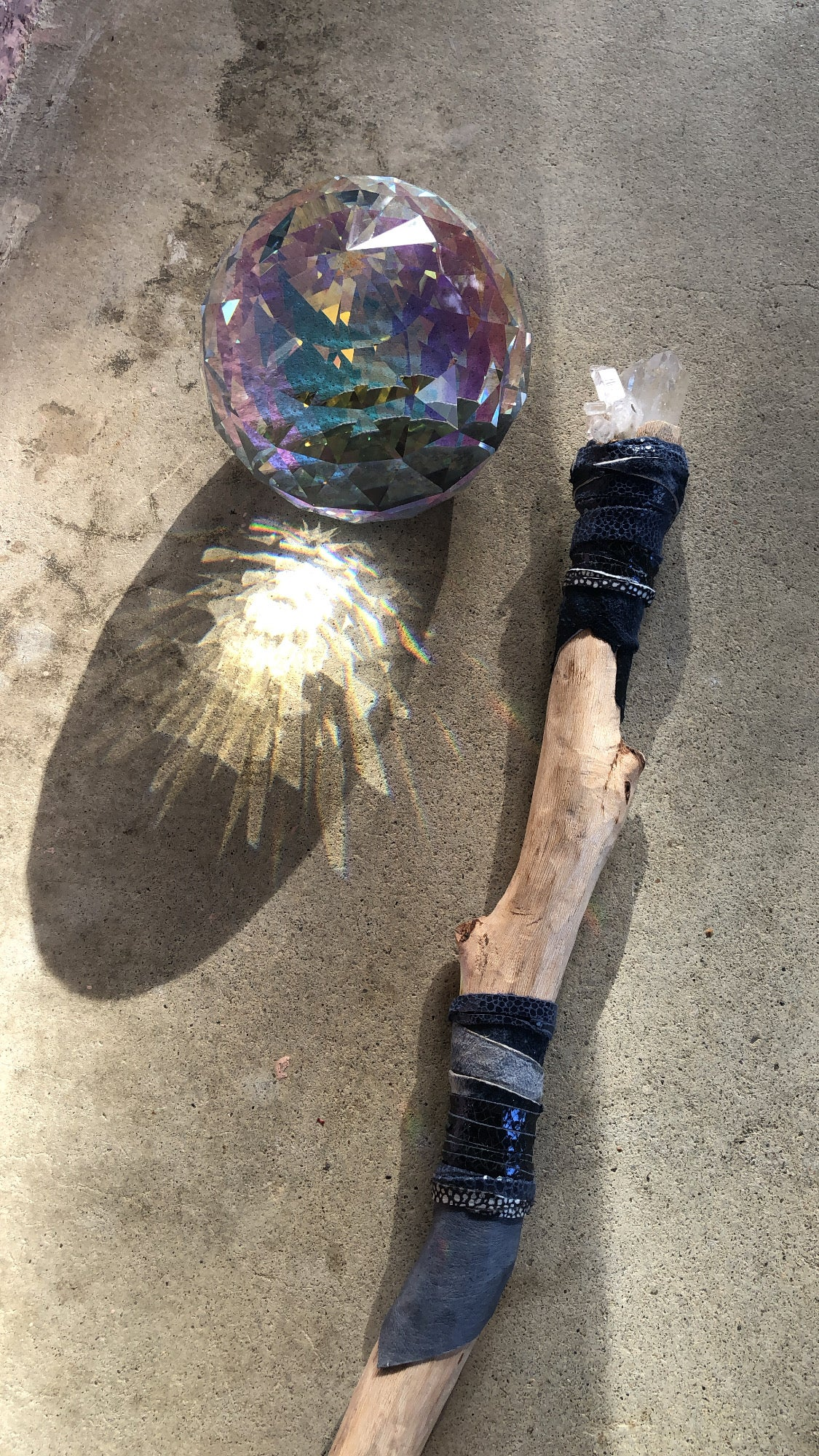 BLUE JEAN BBS magic wand