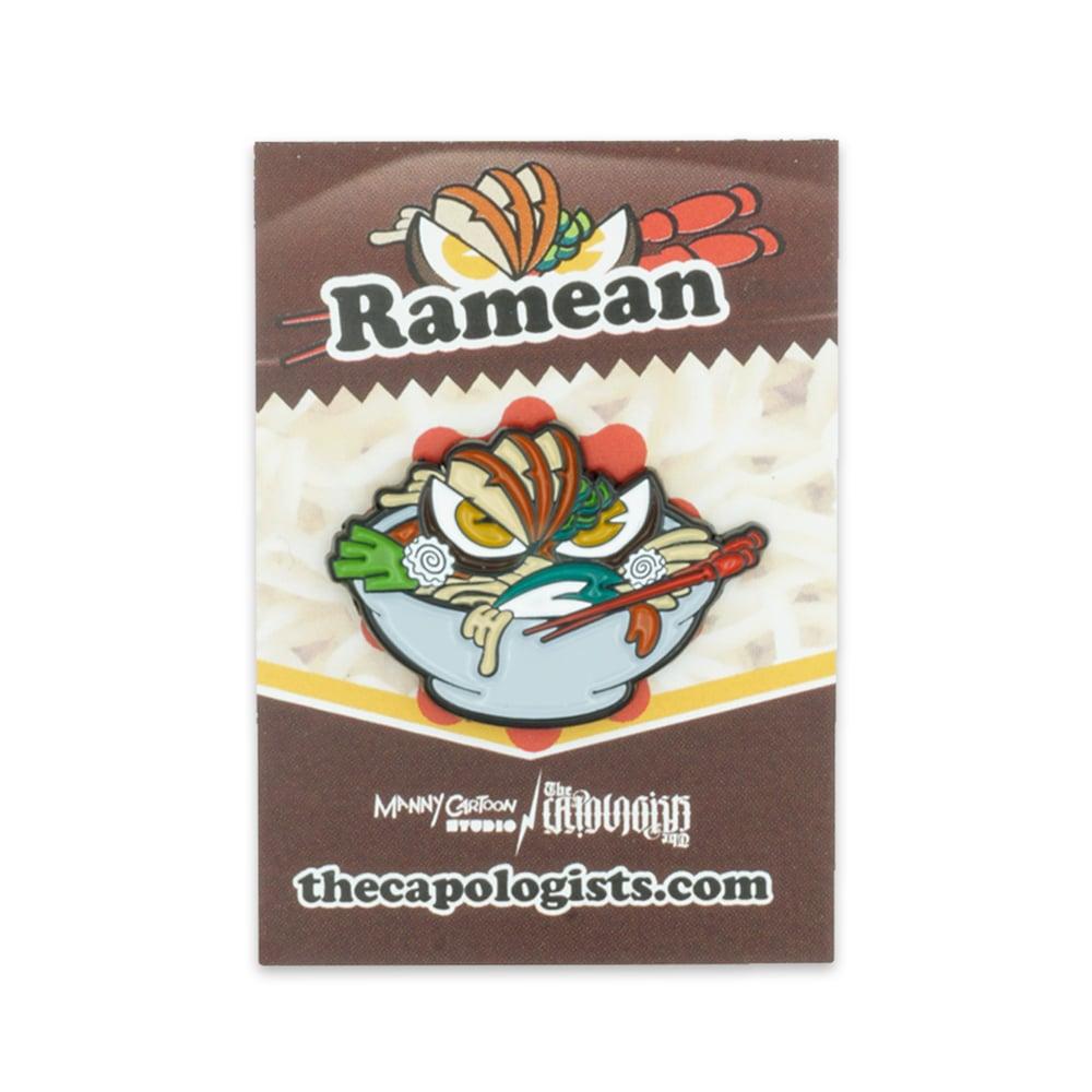 RaMean! Special Edition enamel pin