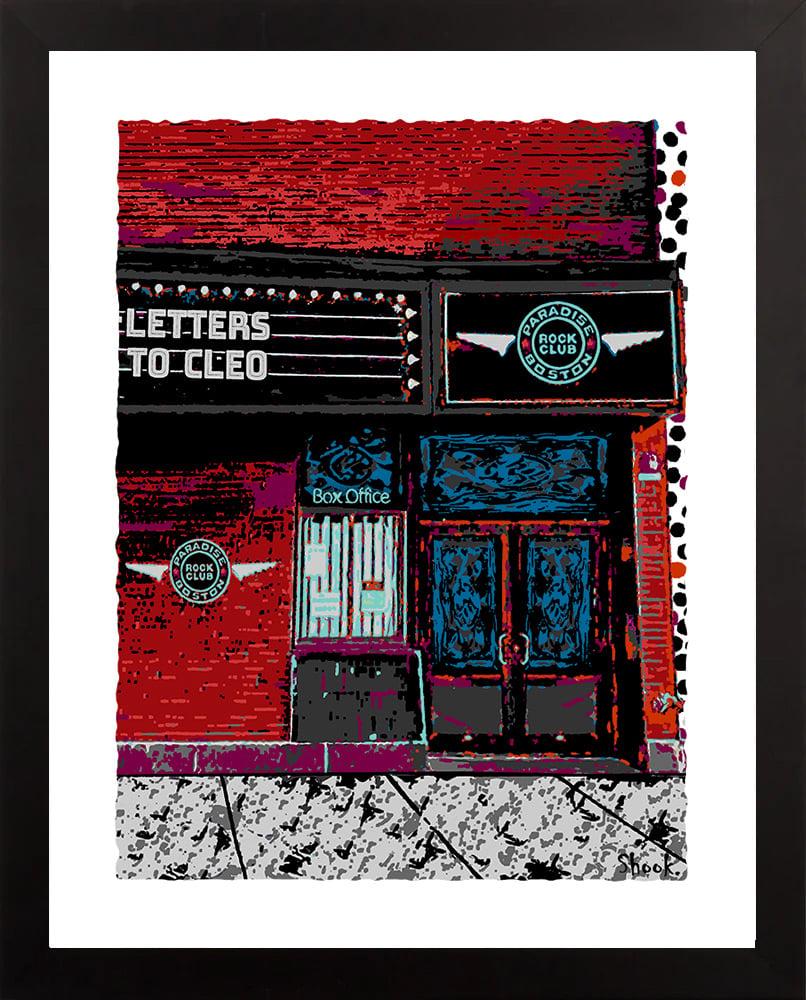 Paradise Rock Club, Boston MA Giclée Art Print (Multi-size options)