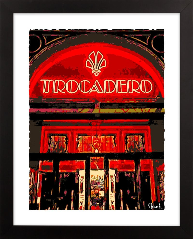 Trocadero Philadelphia Giclée Art Print (Multi-size options)