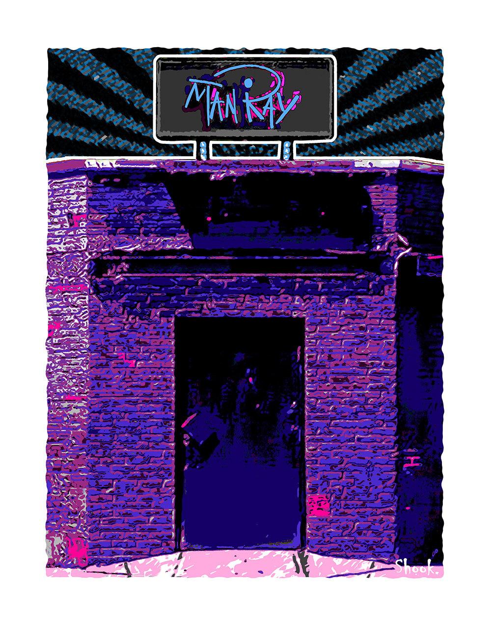 Man Ray Cambridge Giclée Art Print (Multi-size options)