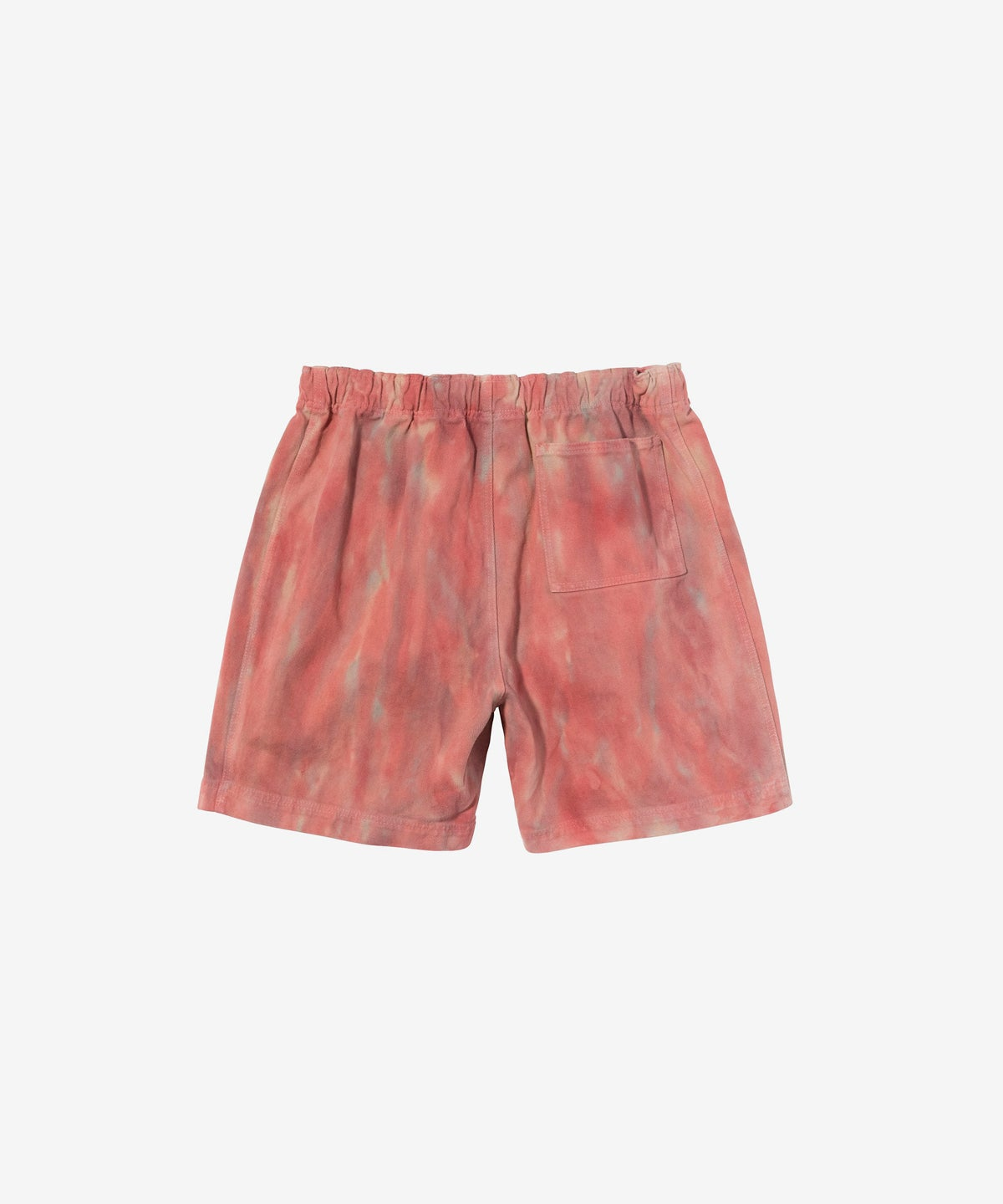Image of STUSSY_DYED BEACH SHORT :::RUST:::