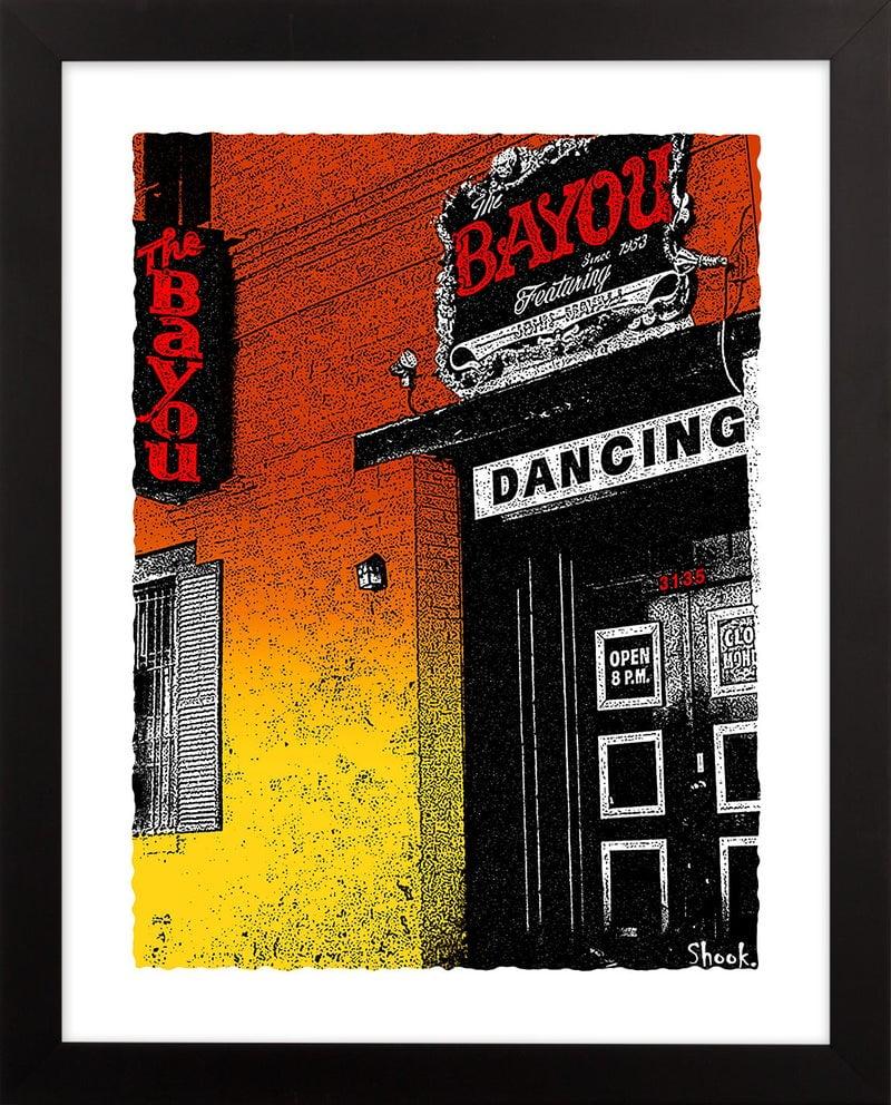 The Bayou,  Washington DC Giclée Art Print (Multi-size options)