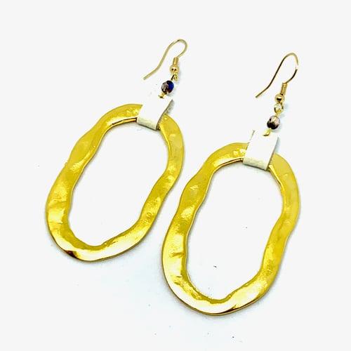 Image of Midsummer Moon Earrings (Sun Rays)