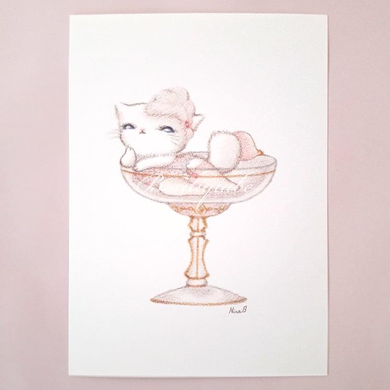 Image of Rêveuse - Art Print