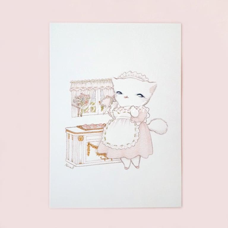 Image of Petite Pâtissière - Art Print