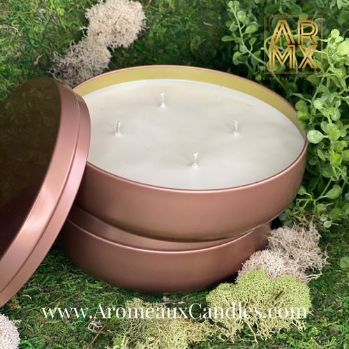 Image of 4 or 5 Wick ARMX Fifth Anniversary 16.9oz Tin Bowls