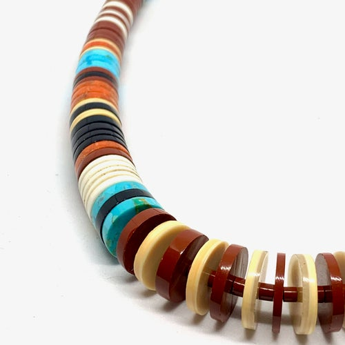 Image of Bold Heishi Necklace (Rio)