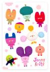 Boba and Friends Sticker Sheet